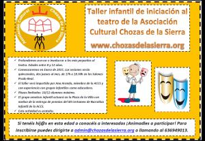 Taller de teatro infantil 2014